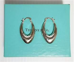 Tiffany & Co. Elsa Peretti 925 Hoop Earrings