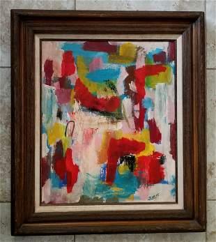 John Von Wicht Oil Canvas