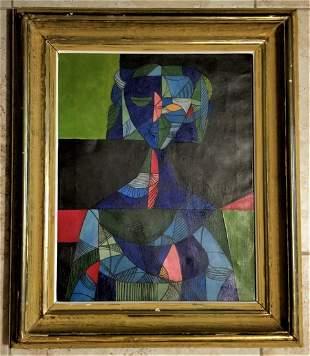 Servando Cabrera Moreno Amazing Abstract Oil Canvas