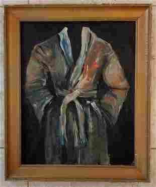 Jim Dine 1989 Oil Canvas Board