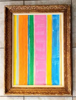 Robert Natkin Acrylic Canvas