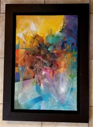 John Saccaro Oil Canvas