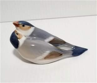 Royal Copenhagen Lovely Birds Figurine