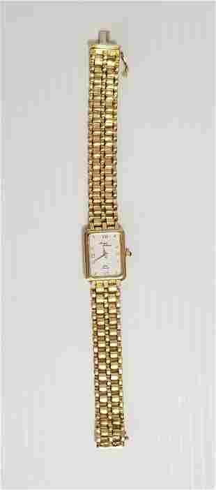 Amazing Michael Anthony Solid 14KT Quartz Watch