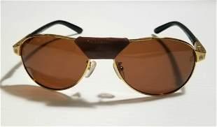 Beautiful Cartier France Golden Sunglasses