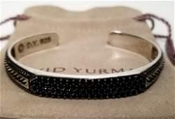 Amazing David Yurman 925 Black Onyx Bracelet
