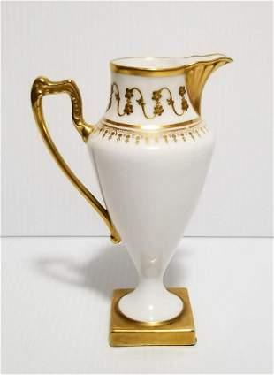 Limoges Blakeman & Henderson Porcelain Pitcher