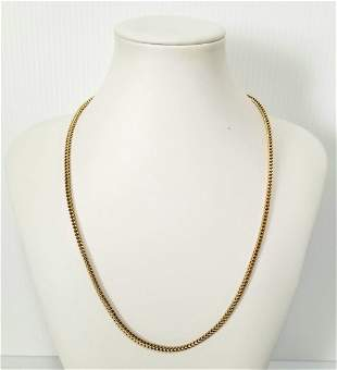 Beautiful 14KT Gold Italy Necklace
