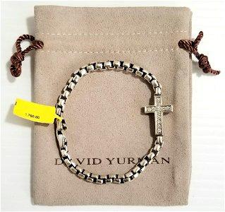 Amazing David Yurman 925 Diamonds Bracelet