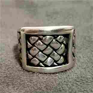 Amazing Scott Kay 925 Sterling Silver Ring