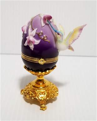 Beautiful Franklin Mint House of Faberge Egg