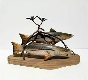 Amazing Hand Made Fish Sculpture
