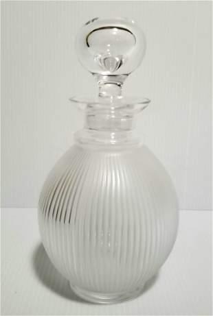 Amazing Lalique France Langeais Decanter