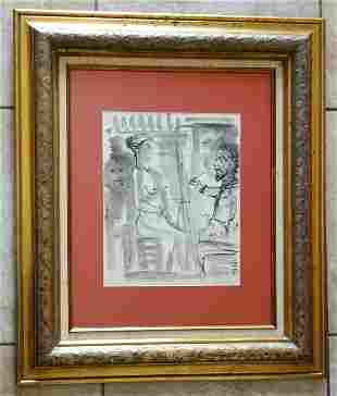Pablo Picasso Mixed Media / Paper