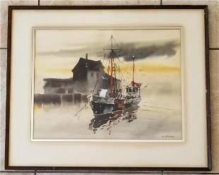 Amazing Charles Reinike Watercolor Paper