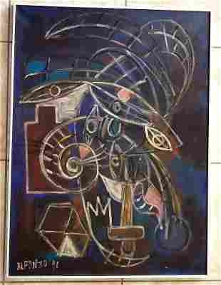 Amazing Carlos Alfonzo Acrylic Canvas