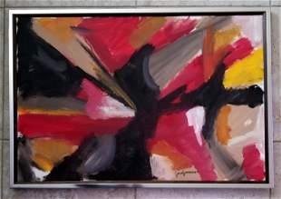 Jose Guerrero Oil Canvas