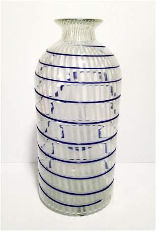 Nice Large Murano Spiral Vase