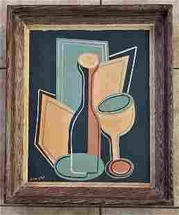 Juan Gris Oil Canvas