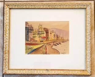 Jack Amoroso Watercolor