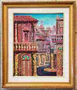 Ruben Berland Cuban 1955 Oil Canvas