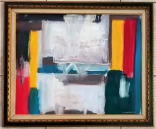 Giorgio Cavallon 1971 Oil Canvas