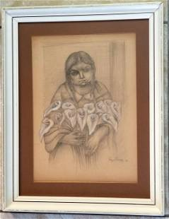 Diego Rivera Drawing/Paper