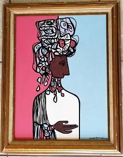 Cundo Bermudez Oil Canvas