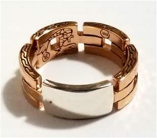Amazing John Hardy 925 Band Ring
