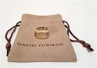 Amazing David Yurman 925 585 Ring