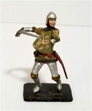 Richard Courtenay 1892-1963 Medieval Toy Soldier