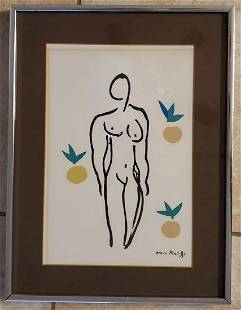 Amazing Vintage Henri Matisse lithograph