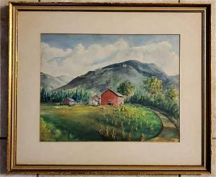 Lois M. Jones Watercolor/Paper