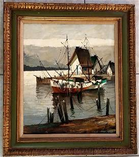 C. Hjalmar, JJ Enwright Oil canvas