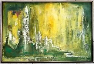 Gerhard Richter Oil Canvas