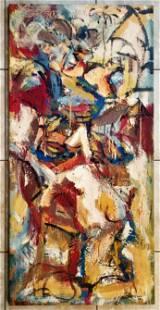 Eugene Leroy 1969 Oil canvas