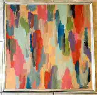 Amazing John Opper 1976 Oil Canvas