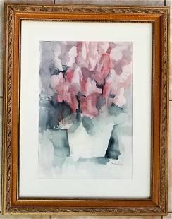 Amazing James Lechay Still Life Watercolor