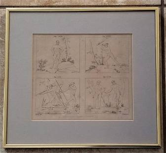 Nicolas Poussin Engraving and Etching