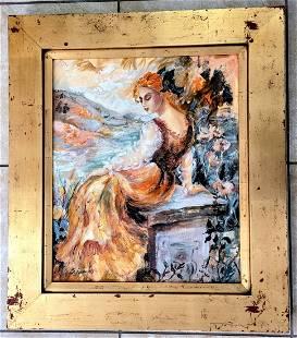 Sevitt Francis Impasto Oil Canvas