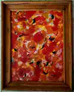 Amazing Beauford Delaney Oil Canvas