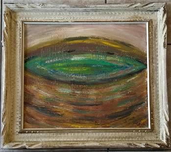 Amazing William Grosvenor Congdon Oil Canvas