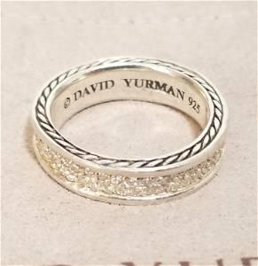 Amazing David Yurman Diamonds Ring