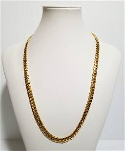 Amazing 10KT Cuban Link Necklace