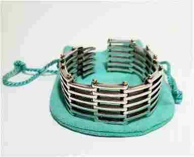 Amazing Tiffany & Co. 925 18kt Gold Bracelet