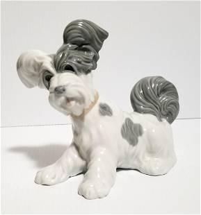 Amazing Dog Lladro Porcelain