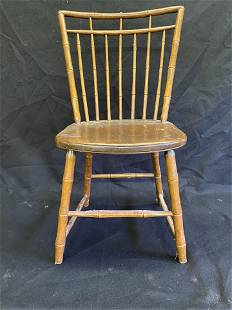 Period Bird Cage Bamboo Windsor Chair