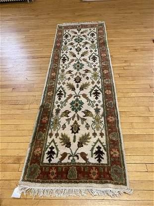 Vintage Mahal Oriental Runner Carpet