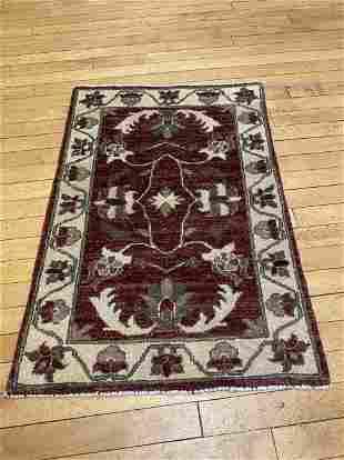 Vintage Peshawar Oriental Carpet