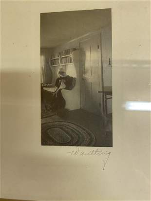 Lot: 6 Small Size Wallace Nutting Prints